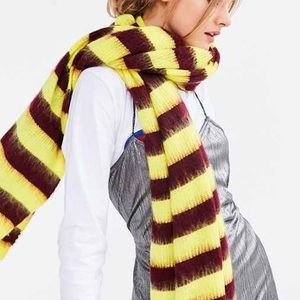 Urban Outfitters Oversized Striped Scarf